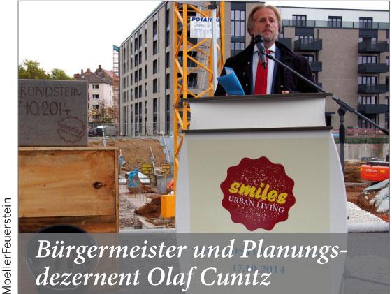 Bürgermeister und Planungsdezernent Olaf Cunitz