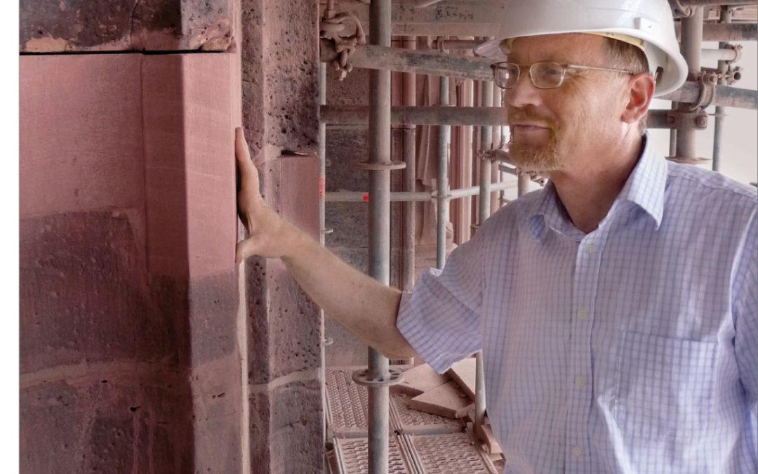 Robert Sommer, seit 2007 der Dombaumeister Frankfurts