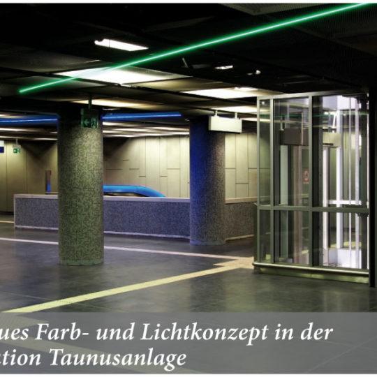 30000 Menschen nutzen täglich  die S-Bahn-Station Taunusanlage
