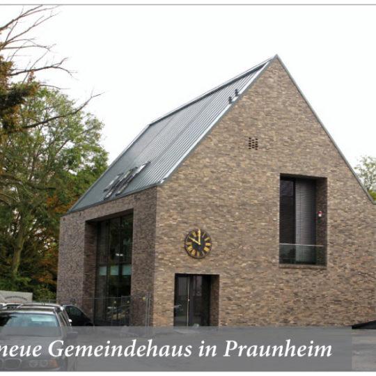 Altes Pfarrhaus weicht  neuem Gemeindehaus