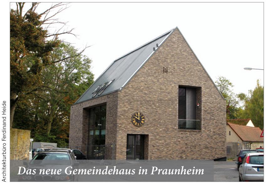 Das neue Gemeindehaus in Praunheim