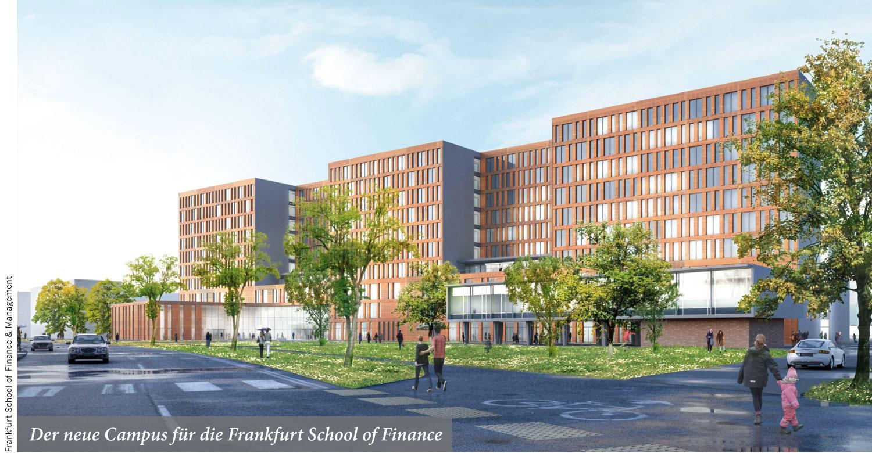 Der neue Campus für die Frankfurt School of Finance