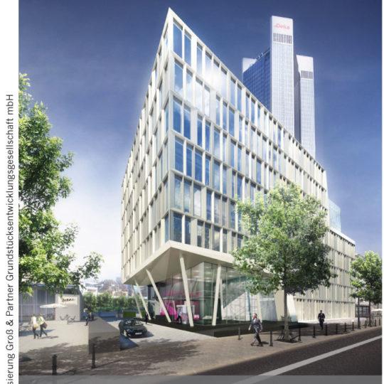 Groß & Partner plant Bürogebäude im Bankenviertel