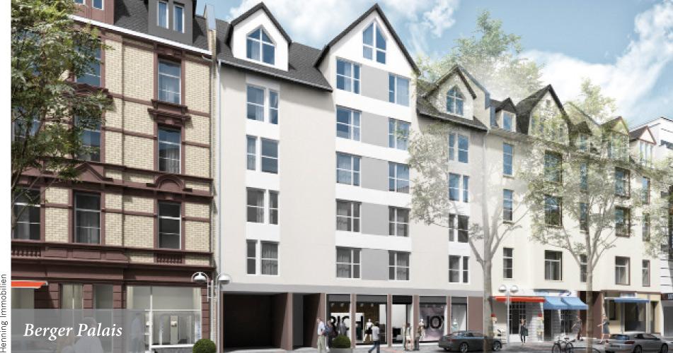 Neue Wohnungen auf der Berger Straße