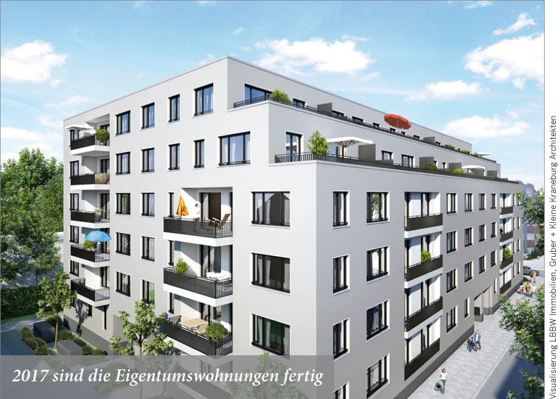 2017 sind die Eigentumswohnungen fertig