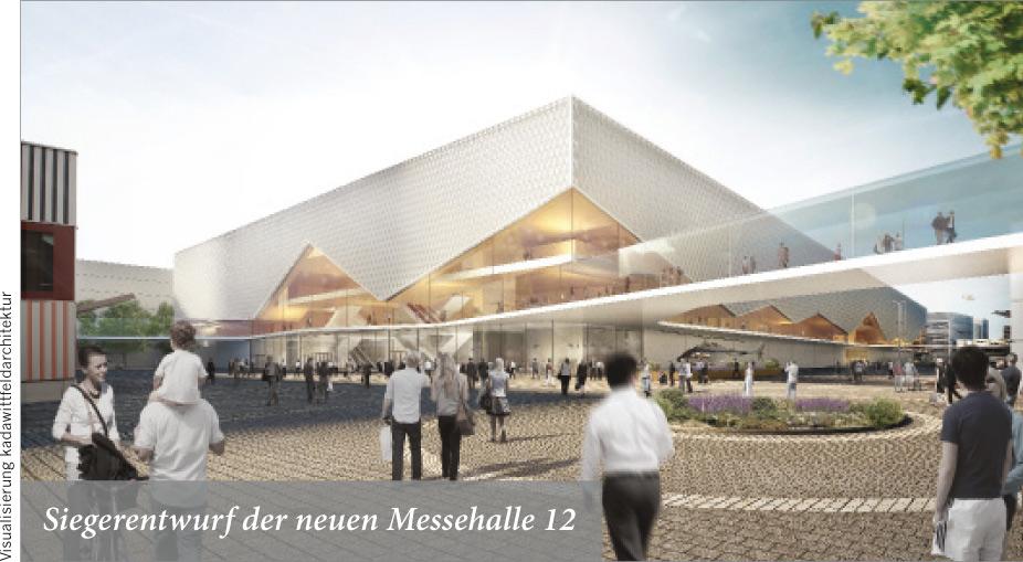 Messe Frankfurt baut weitere Halle