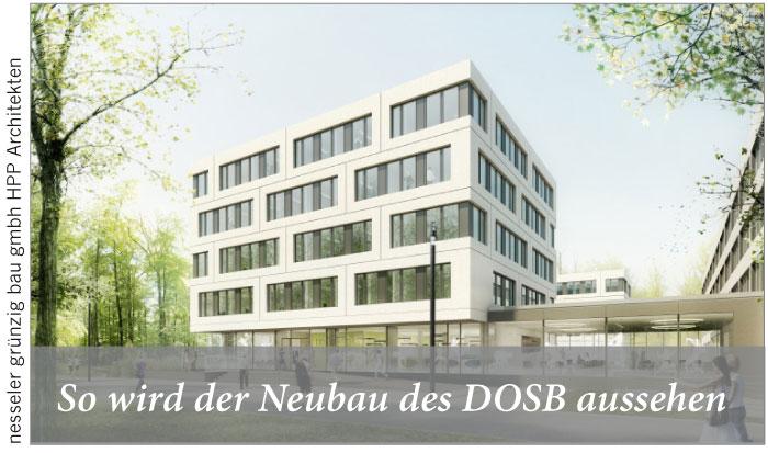 So wird der Neubau des DOSB aussehen