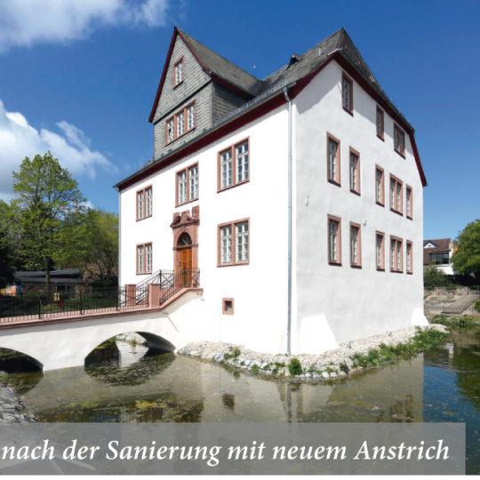Fachgerechte  Wiederherstellung  der Schelmenburg