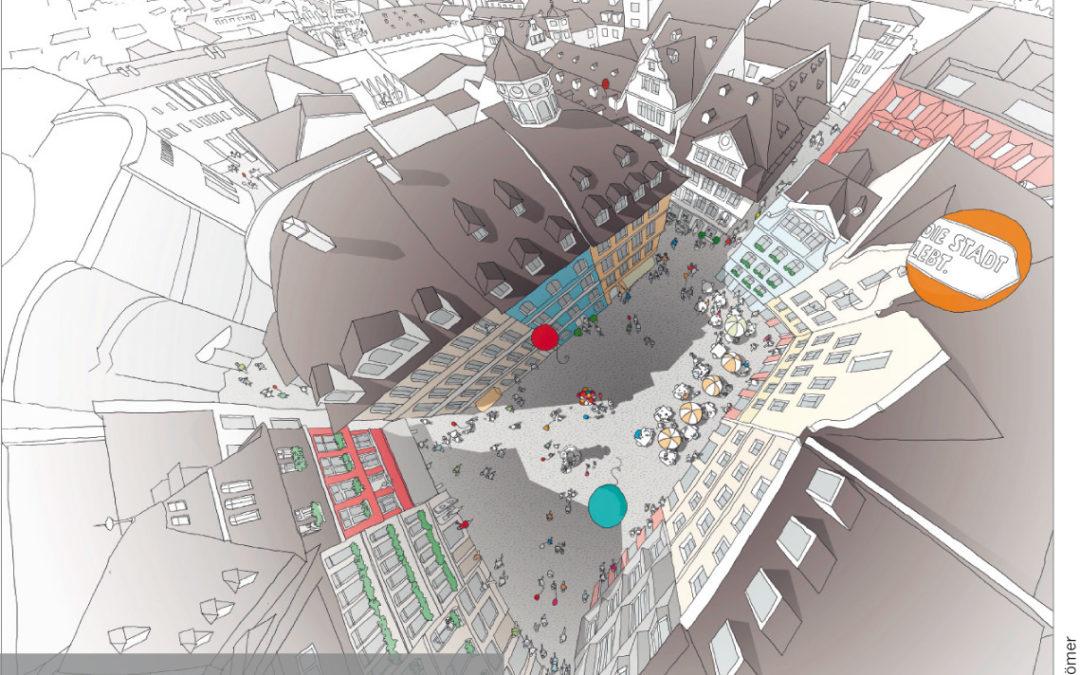Illustration der neuen Altstadt