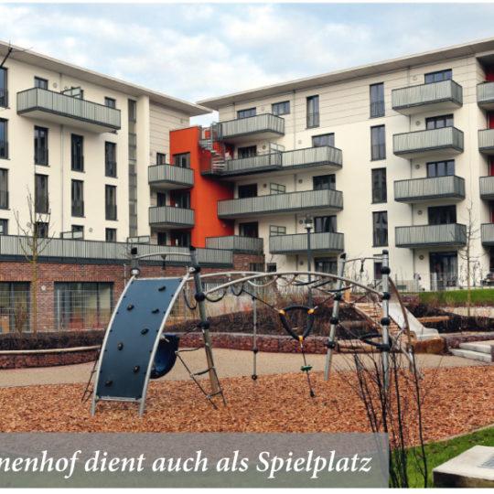 Das Apfel-Carré in Preungesheim für gemischte Bewohnerstrukturen