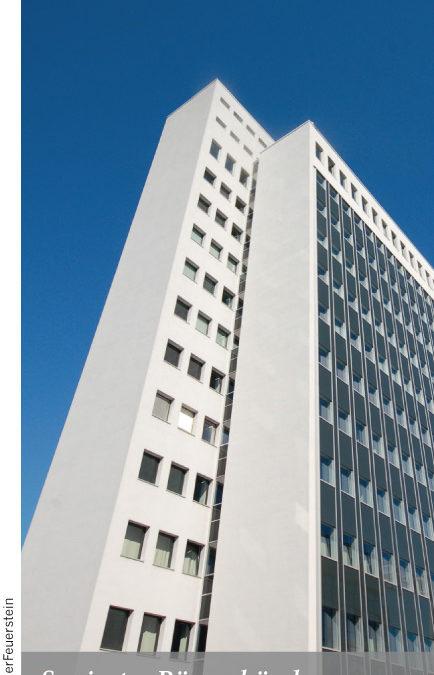 Saniertes Bürogebäude