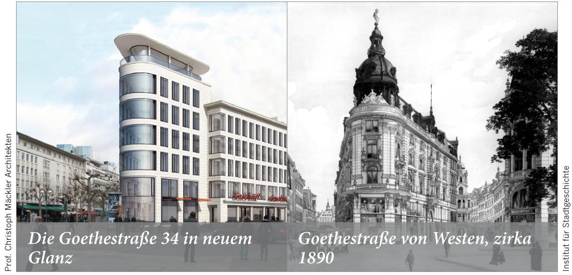 Die Goethestraße 34 in neuem Glanz