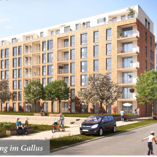 123 Smiles-Wohnungen im Gallus