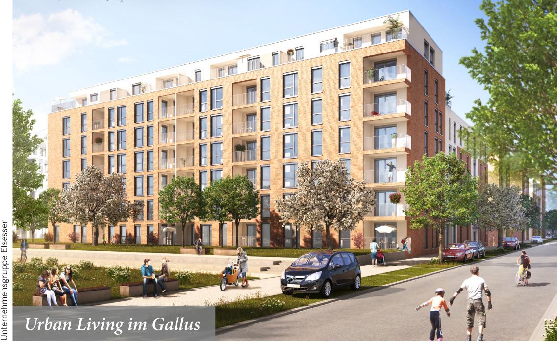 Urban Living im Gallus