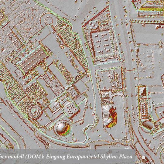 Neue Laserscannerbefliegung,  Orthophotos und Karten