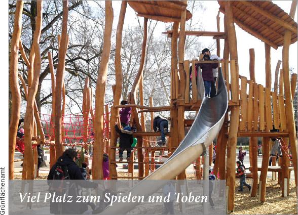 Der Höchster Stadtpark wird erneuert