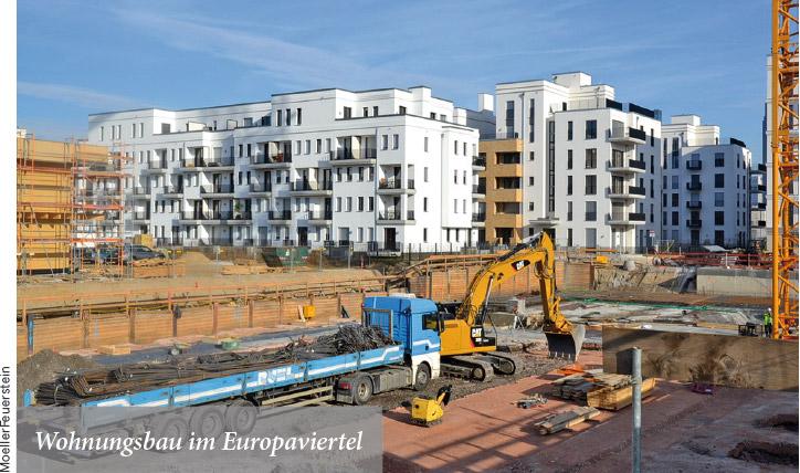 Wohnungsbau im Europaviertel