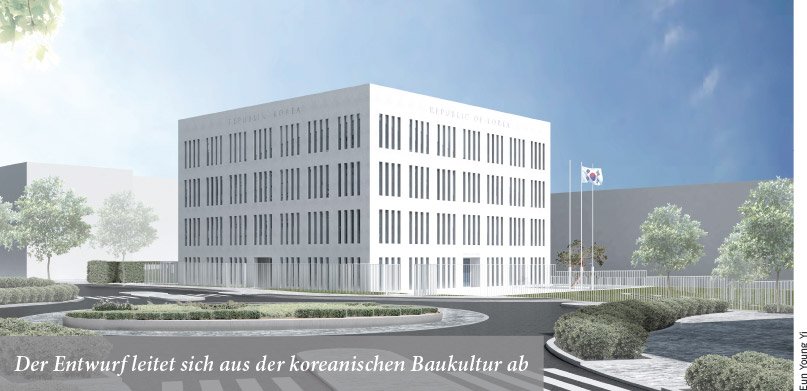 Neubau des koreanischen Generalkonsulats Anfang 2016