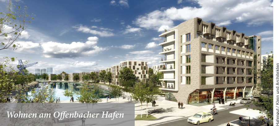 Wohnen am Offenbacher Hafen