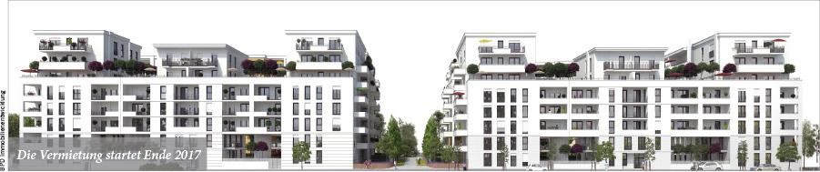 287 neue Mietwohnungen in der City West