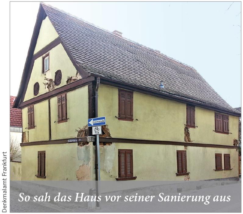 So sah das Haus vor seiner Sanierung aus