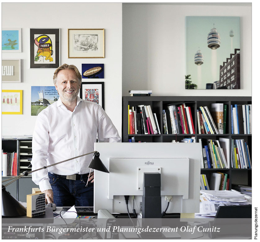 Frankfurts Bürgermeister und Planungsdezernent Olaf Cunitz