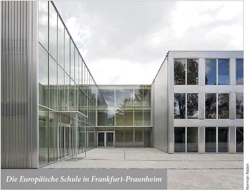 Die Europäische Schule in Frankfurt-Praunheim