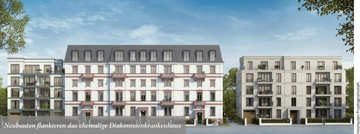 Holzhausenviertel erhält neues Wohnquartier