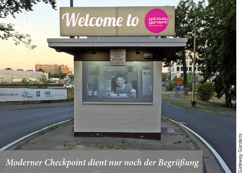 Moderner Checkpoint