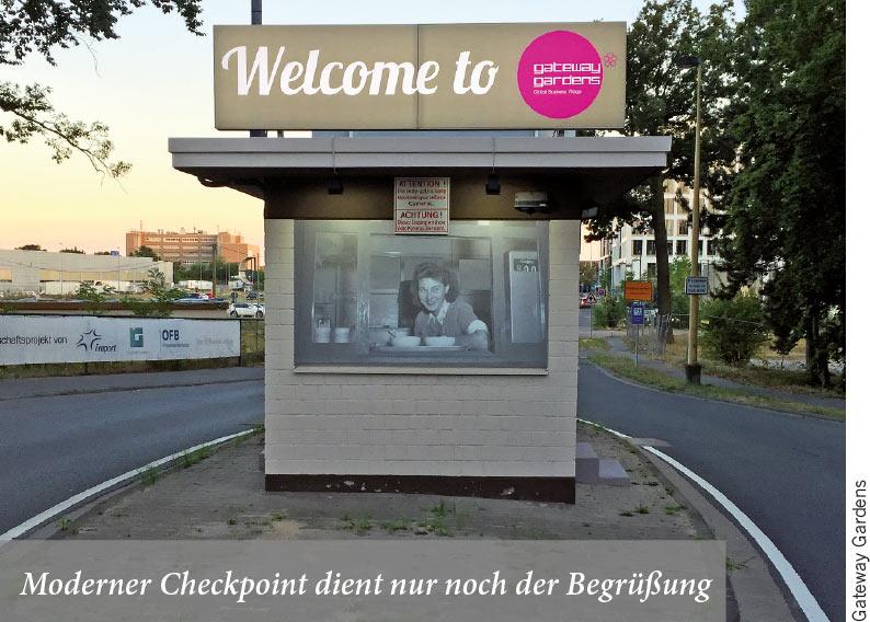 Moderner Checkpoint