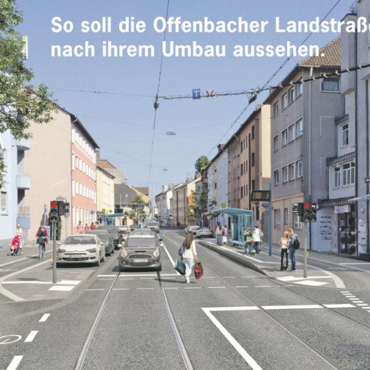 Sanierung der Offenbacher Landstraße