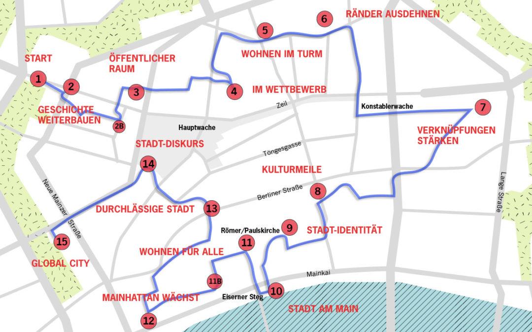 Audiotour über Stadtentwicklung