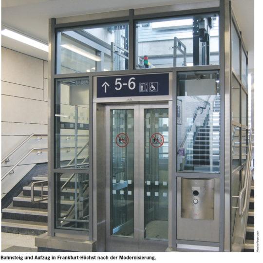 Modernisierung und barrierefreier Ausbau des Bahnhofs