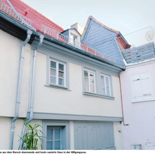 Private Wohnhaus-Sanierung