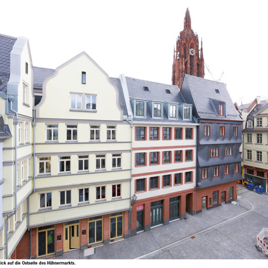 DomRömer-Quartier feiert Ende September große Eröffnung