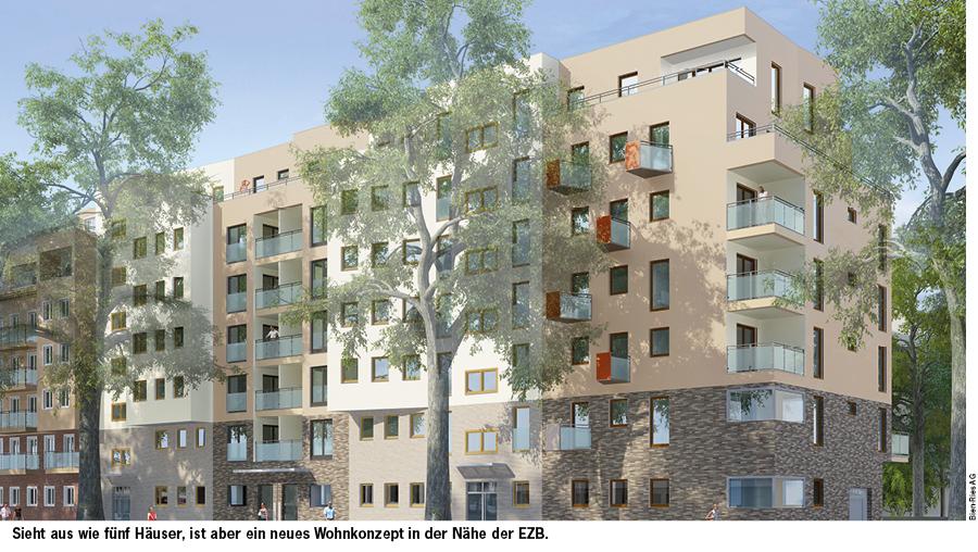 EASTFIVE – 84 Wohnungen und eine gemeinschaftlich nutzbare Anlage