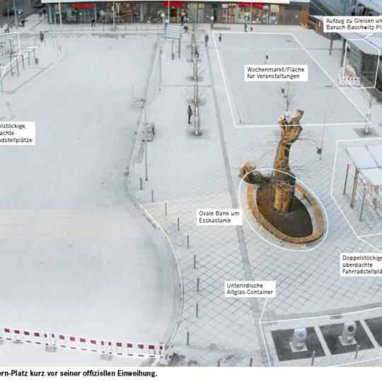 Neugestaltung des Arthur-Stern-Platzes