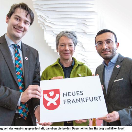 """Forum Neues Frankfurt"" eröffnet"
