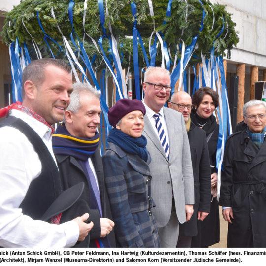 Jüdisches Museum feierte Richtfest
