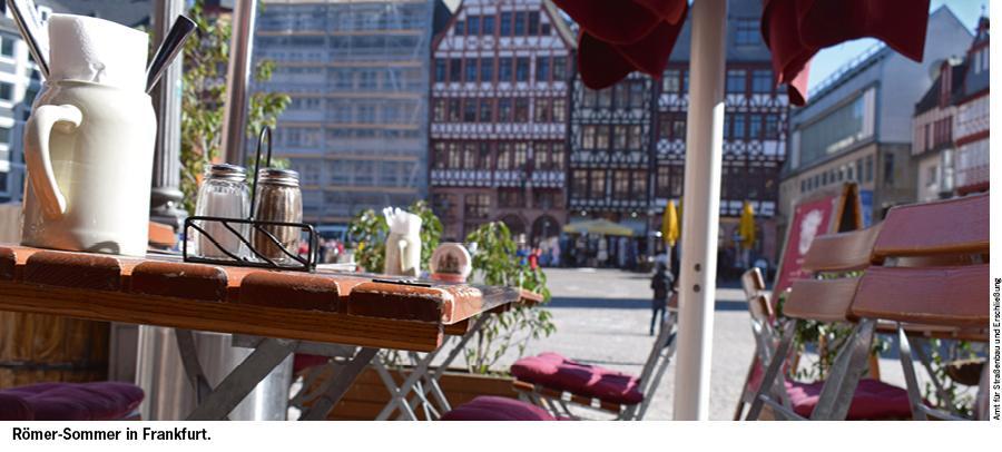 Sommergarten-Anträge per Internet