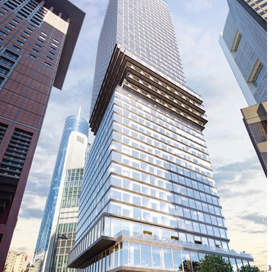 OMNITURM: Das erste Hochhaus für  Wohnen und Arbeiten in Frankfurt