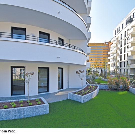 Patio – 287 Mietwohnungen fertiggestellt