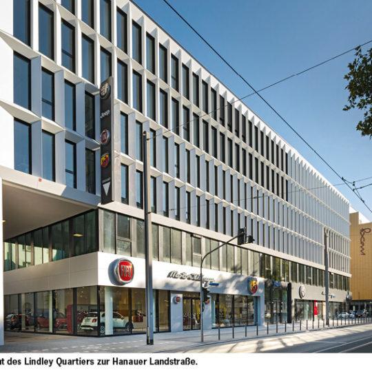 Lindley Quartier: Neuentwicklung  eines alten Gewerbestandorts