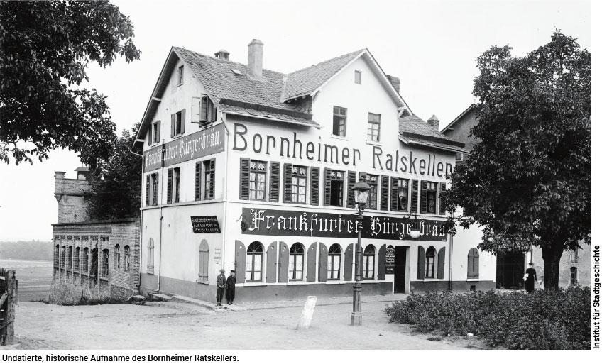 Denkmalgerechter Wiederaufbau des Bornheimer Ratskellers