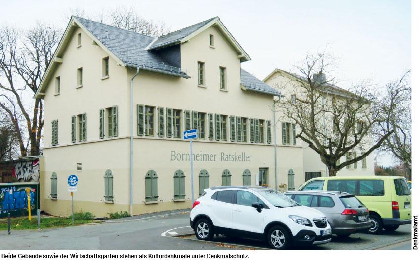 Bornheimer Ratskeller unter Denkmalschutz