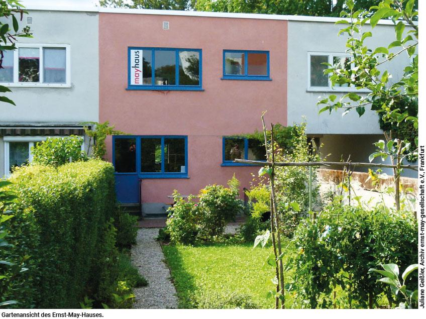 Ernst-May-Haus Gartenansicht