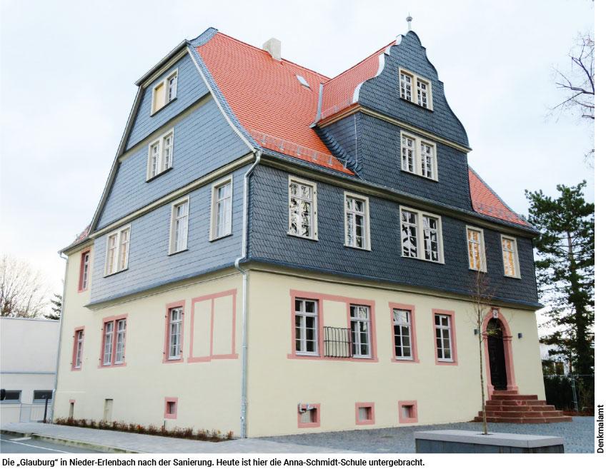 Glauburg in Nieder-Erlenbach