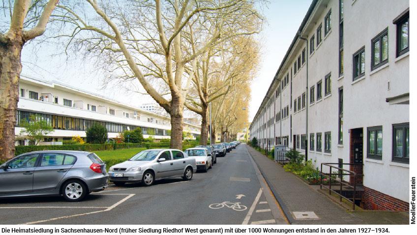 Heimatsiedlung in Sachsenhausen-Nord
