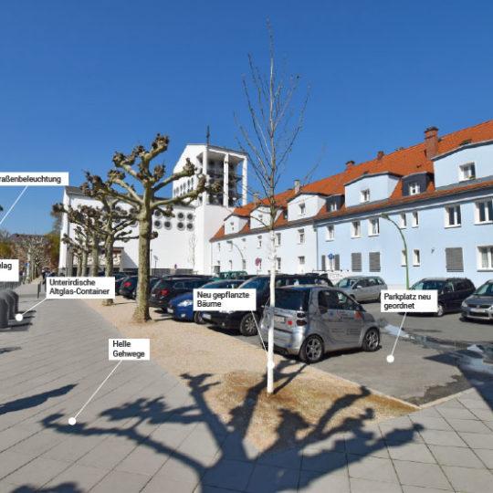 Umgestaltung der Schäfflestraße