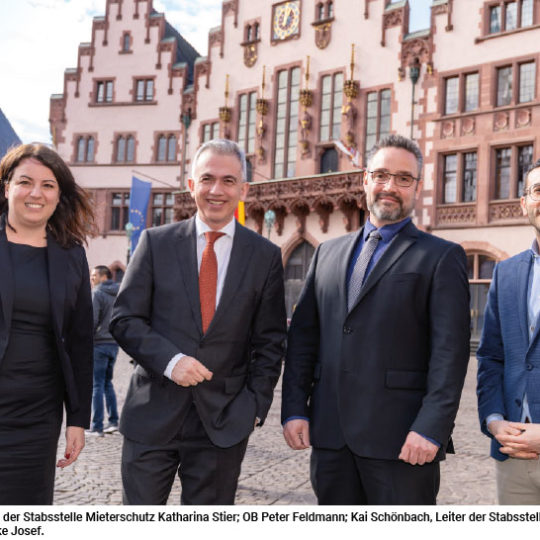 Mieterschutz wird in Frankfurt großgeschrieben